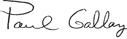 Paul Gallay signature