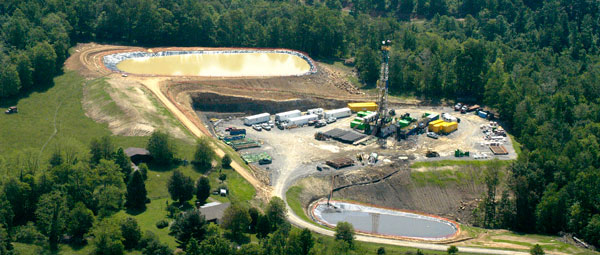 gas drilling well credit WVSORO